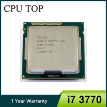 Intel Core i7 3770 3.4GHz SR0PK Quad Core LGA 1155 מעבד מעבד