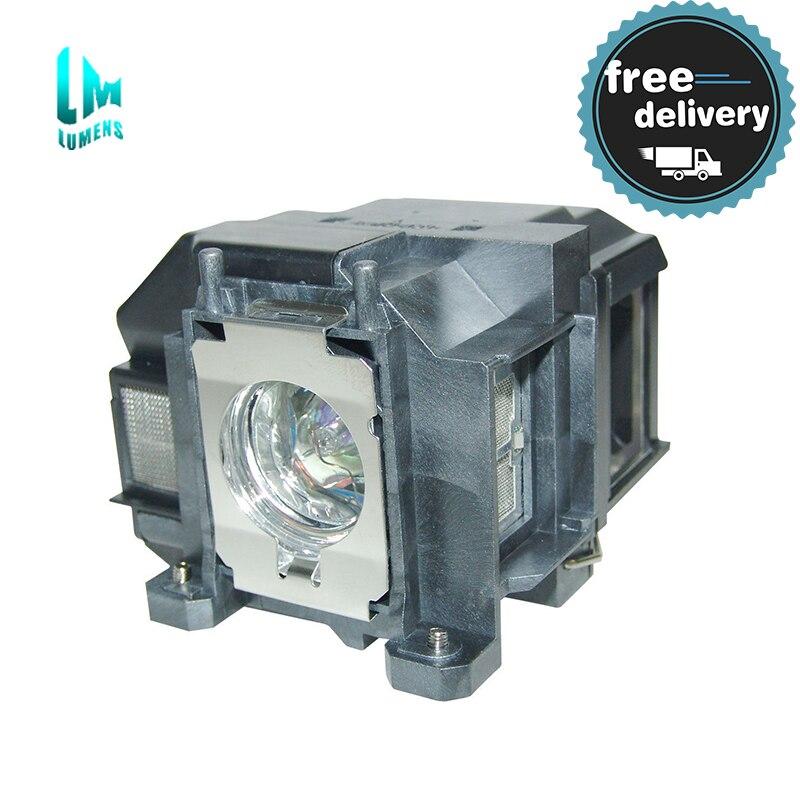 Para lámpara para proyector Epson para ELPLP67 V13H010L67 EB-X02 EB-S02 EB-W02 EB-W12 EB-X12 EB-S12 S12 EB-X11 EB-X14 EB-W16 eb-s11 H432B