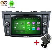Sinairyu Android 7 1 Quad Core RAM 2G Car DVD Player For Suzuki Swift 2011 2012