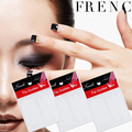 1pcs New French Stencil Nail Art Form Fringe Guides Manicure DIY Stickers Tips women beauty nail art stickers 32817
