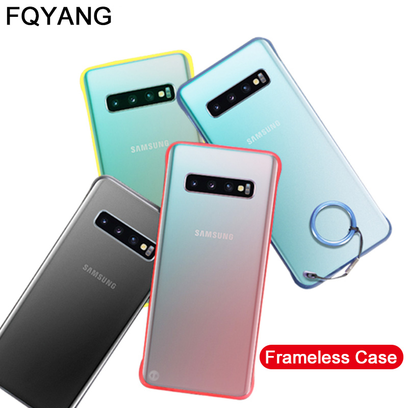 Ultra-thin Case For coque samsung s10 plus phone case Transparent Coque for funda Samsung S10plus Capa cover