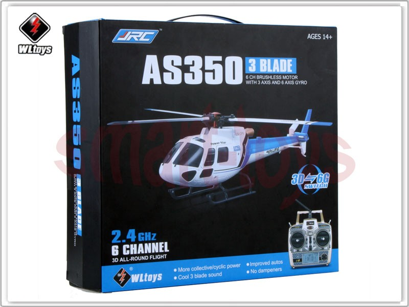 US $127 0 |Wltoys V931 RC Helicopter 6CH 2 4G Brushless Scale Lama  Flybarless Switchable Mode RTF-in RC Helicopters from Toys & Hobbies on