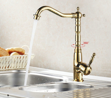 Горячая распродажа домохозяйство аксессуары латунь 360 град. кухонный кран ванной бассейна кран кран