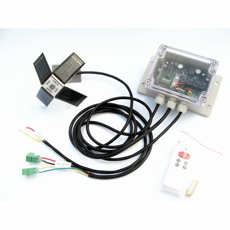 DC power, solar controller for Dual Axis Solar Tracker Tracking system Linear actuator solar automatic tracking controller solar automatic tracking system double axis tracking automatically facing the sun