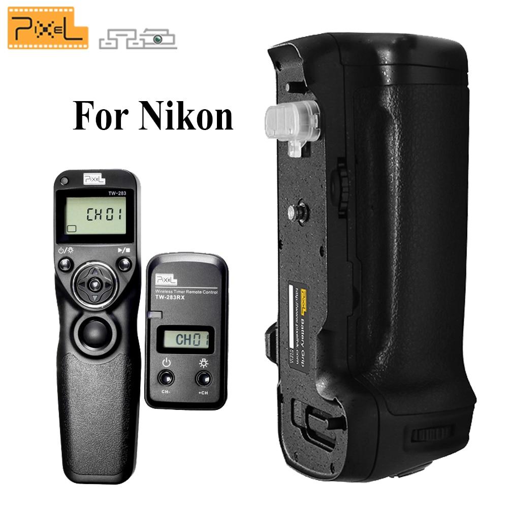 PIXEL Vertax D17 Battery Grip D-17 for Nikon D500 DSLR Cameras + Pixel TW-283/DC0 Wireless Timer Shutter Release For Nikon стоимость