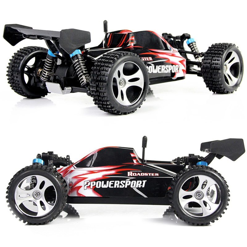 WLtoys A959 Electric Nitro Rc Car 1/18 2.4Ghz Remote Control 4WD Car High Speed Off-Road Car Racing Monster For Childre