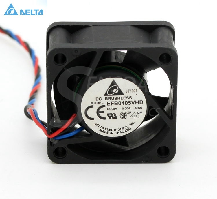 Delta EFB0405VHD 4020 40mm 4cm DC 5V 0.50A server inverter blower axial cooling fans free shipping bi sonic bp402012hh 4020 40mm 4cm dc 12v 0 20a server inverter computer cpu pc case cooling fans