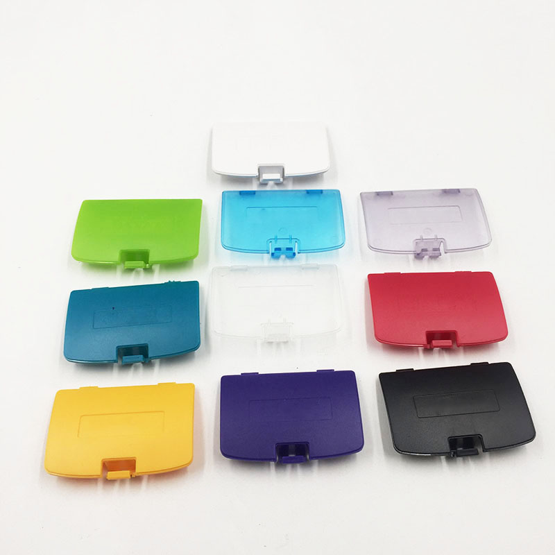 For Nintendo GameBoy Game Boy Color GBC Battery Cover Lid Door 2 pieces brand new oem speakers for nintendo gameboy color gbc game boy advance gbc gba speaker page 5