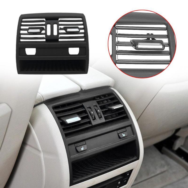 1 шт. сзади центральной консоли свежего воздуха выход вентиляционная решетка Обложка для BMW F10 F18 520 интерьер Молдинги воздуха на выходе венти...