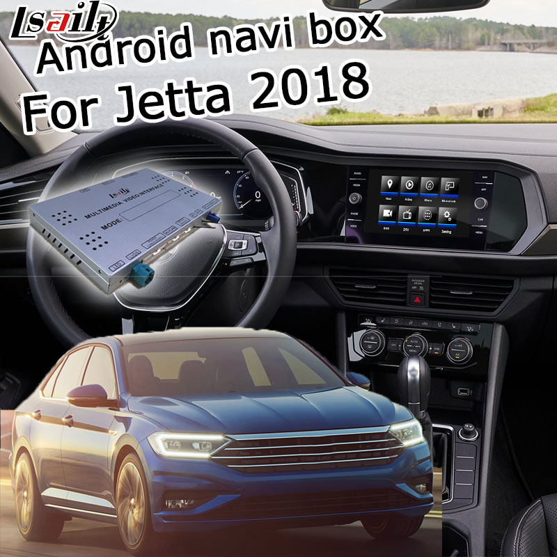 """Android / carplay interface box for Volkswagen Jetta 6.5 8 9.2"""" MIB MIB2 MQB video interface box with GPS navigation by Lsailt