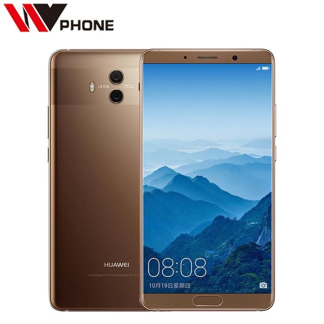 "Huawei Mate 10 4G 64G Original Mobile Phone 4G LTE Octa Core 5.9"" Android 8.0 2560*1440P 4000mAh Fingerprint ID"
