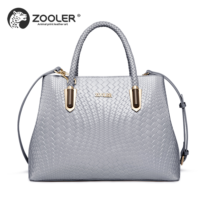 ZOOLER 100% real lether bags women 2018 genuine leather woman handbags women bags hot designer Business ladies hand bags#y129
