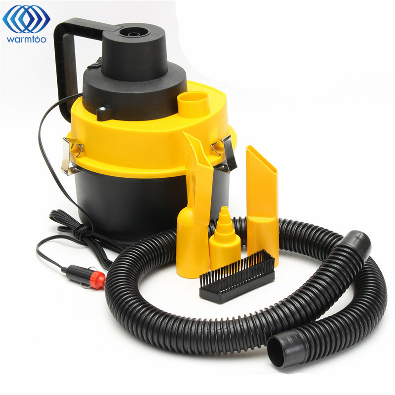 12V 75W New Portable Wet Dry Car Vacuum Cleaner Inflator Turbo Hand Held Car Super Suction Dust Collector Cleaning ravak turbo cleaner 1000 г в барнауле