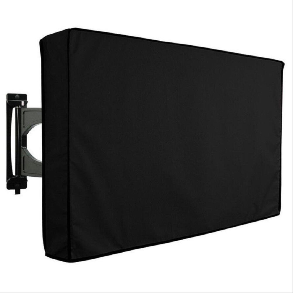 Weatherproof TV Cover Outdoor TV Cover For 55-58Inches With Bottom Cover Weatherproof And Dust-proof Material With Protect TV