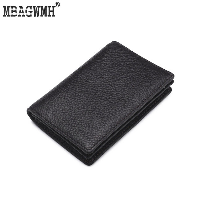 Genuine leather men credit card holder cover russian 50 business genuine leather men credit card holder cover russian 50 business card wallet large capacity document case colourmoves Image collections