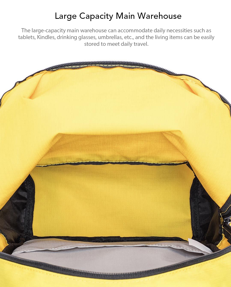 Original Xiaomi 10L Backpack Bag Colorful Leisure Sports Chest Pack Bags Unisex For Mens Women Travel Camping (5)