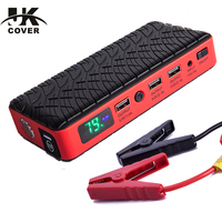 JKCOVER Starting Device 12V Car Battery Jump Starter 26000mAh Power Bank 600A Emergency Multi Function Charger