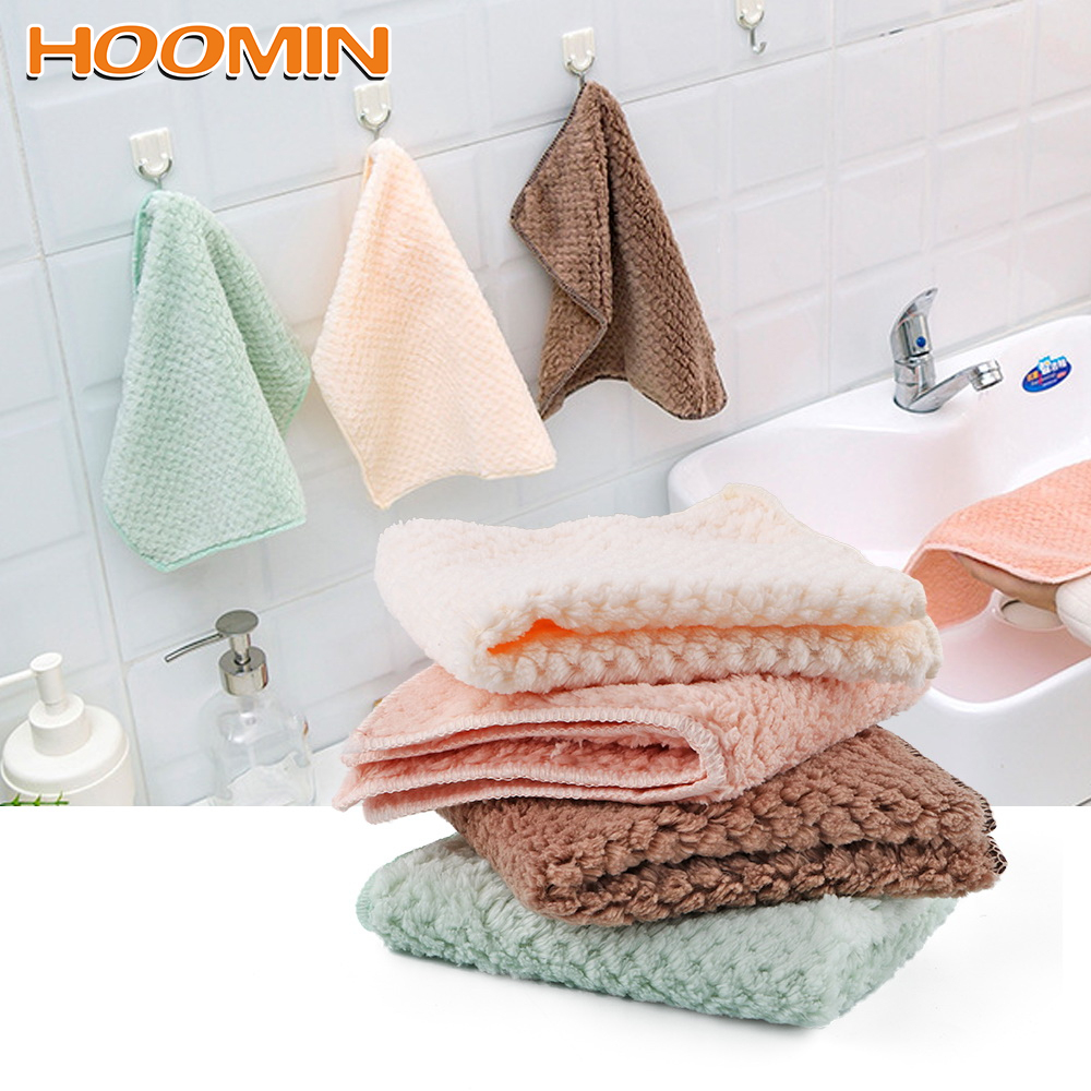Nonstick Oil Kitchen Tableware Dish Cloth Kitchen Dishclout Super Absorbent Wipe Table Washing Towel Household Cleaning Cloth