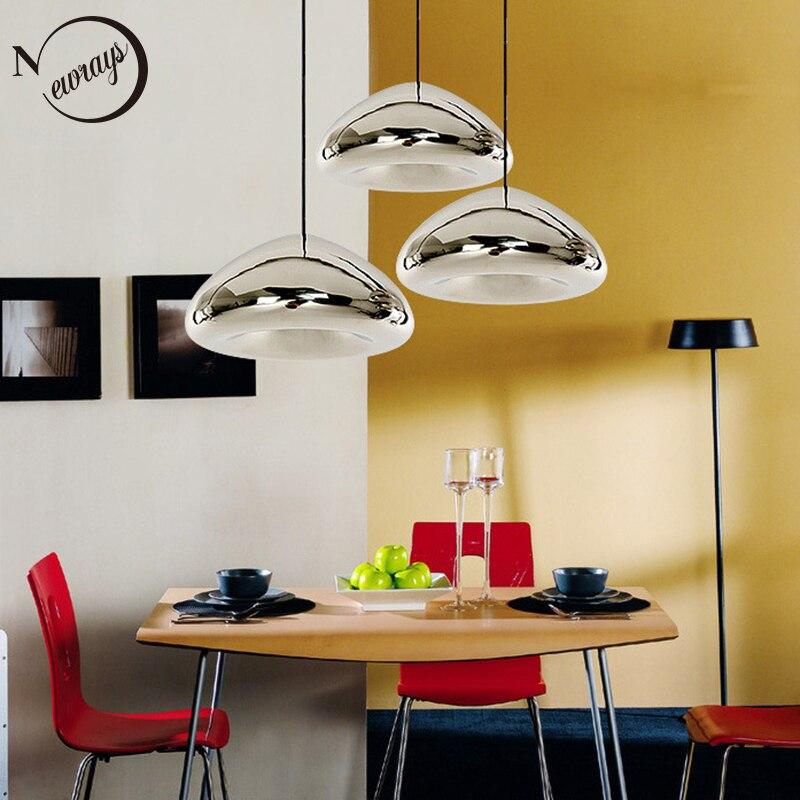 Modern art deco loft glass pendant light LED E27 with 3 colors for living room bedroom kitchen cafe hotel restaurant office bar glass deco glass deco ns g8
