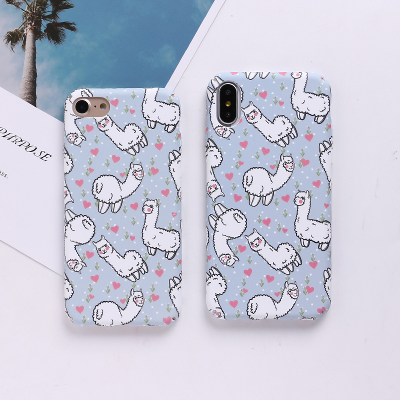 Cute Lama Alpaca Phone Case