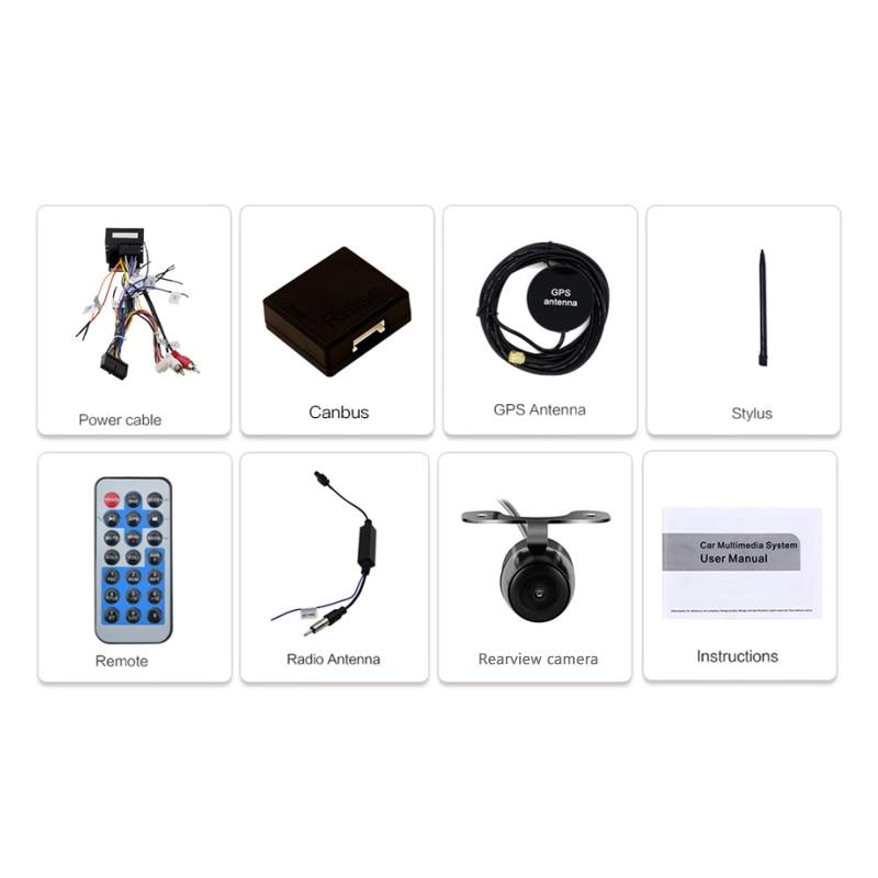 Eunavi 2 Din 7 ''lecteur DVD de voiture Radio GPS Navi pour VW Golf Polo Jetta Touran Mk5 Mk6 Passat B6 2din stéréo tablette pc dans dash usb - 6