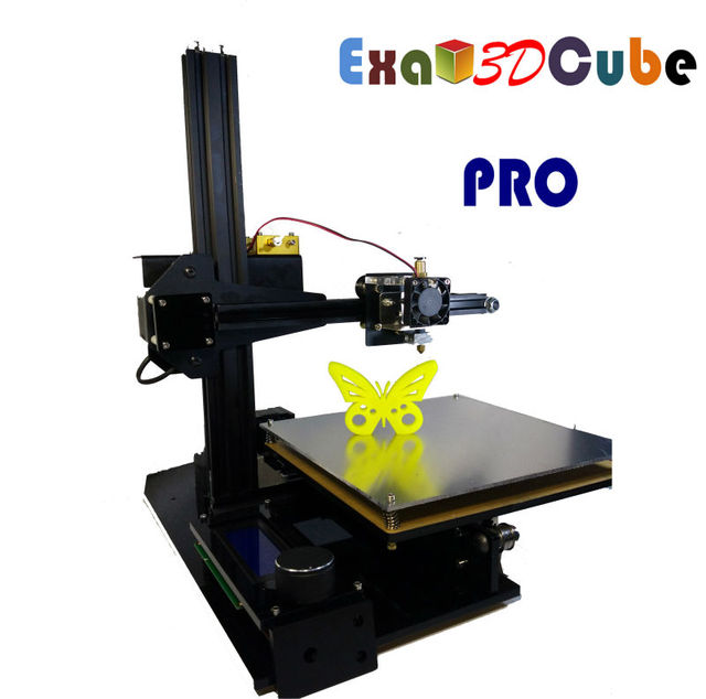 3D printing BEST EXA3DCUBE PRO 3d printer in China FREE SHIPPING  USD349  FREE GIFT 1KG PLA filament