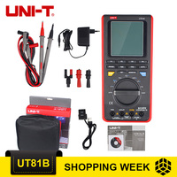 UNI T UT81B Scope Digital Multimeters USB/ LCD Meter Tester Oscilloscope UT81B With Pointer Display
