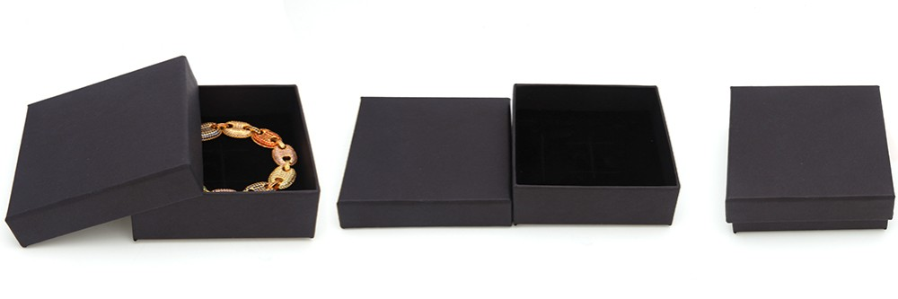 black gift box for jewelry