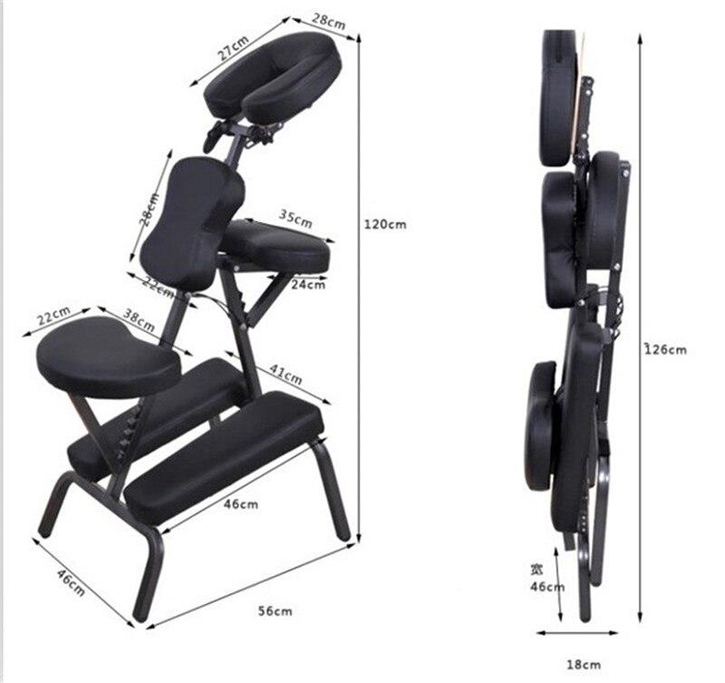 réglable pour SPA fauteuil Massage Salon Pliable Tatouage rCexWBod