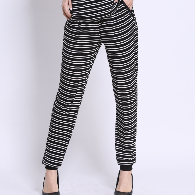 Compare Prices on Black and White Striped Yoga Pants- Online ...
