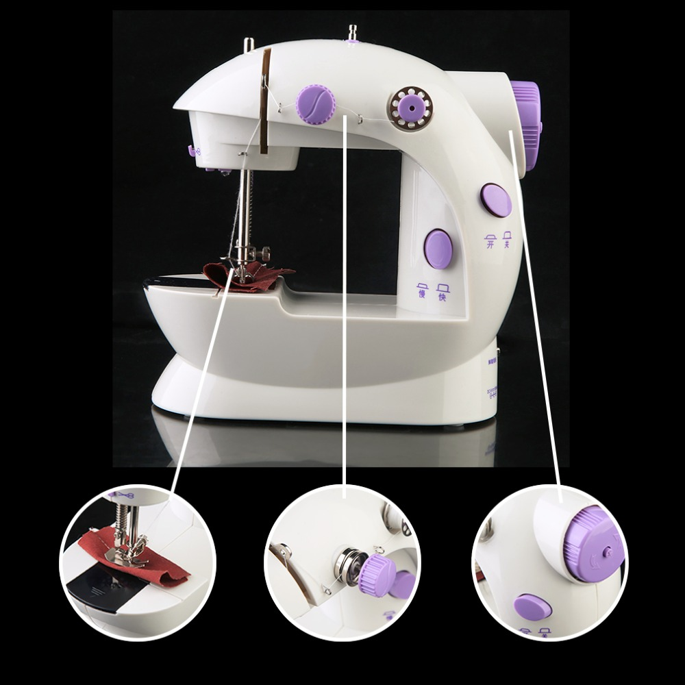 portable Electric sewing machine set sweing Tailor Small Household Electric Mini Multifunction Portable Sewing Machine Tools