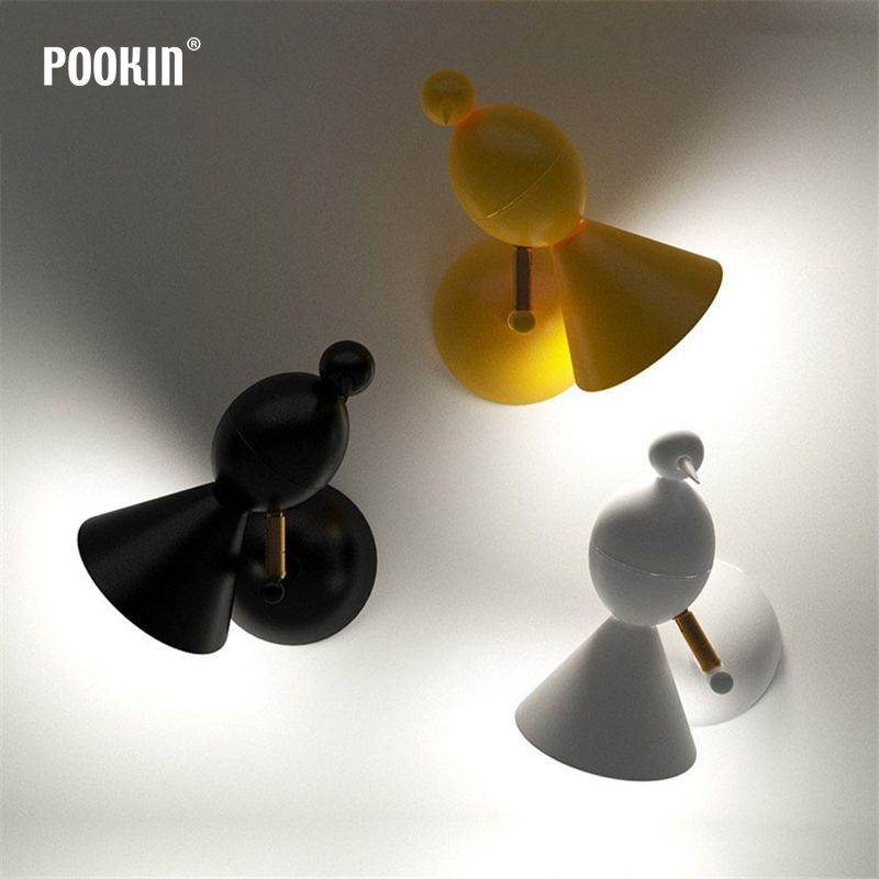 Nordic Modern Creative Bird Walk Lamp Modern LED Wall Light Fixtures For Bedroom Living Room Wall Lamp for Home Lighting modern nordic bird wall lamp modern led wall light fixtures for bedroom bedside led wall mounted sconces home lighting lampara page 1