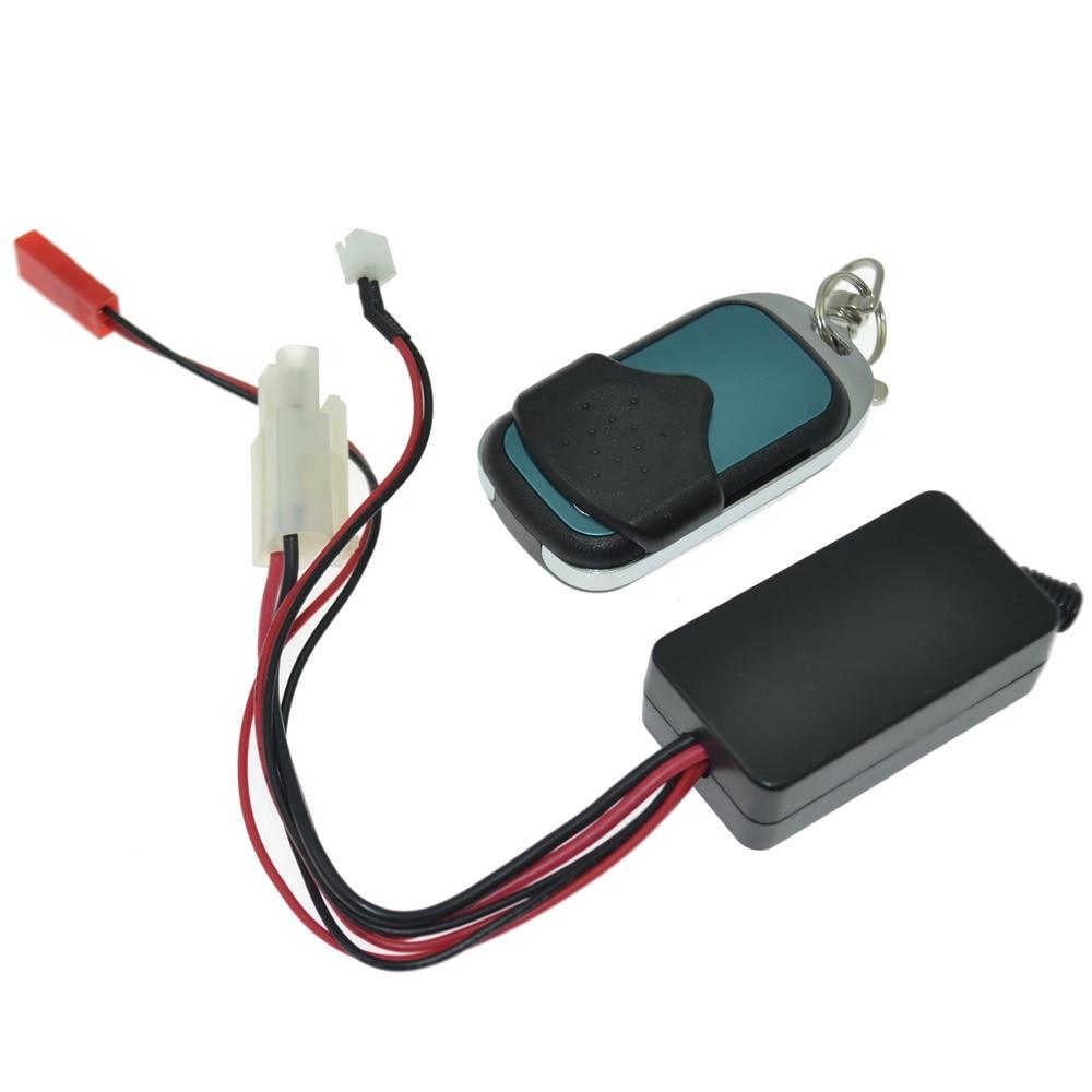 RC Car Winch Control Wireless Remote Receiver for 1:10 RC Crawler Truck SCX10 D90 Winch rc crawler metal winch   wireless remote