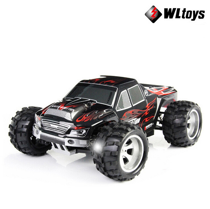 Wltoys A979 1/18 2.4GHz 4WD High Speed Monster 50Km/H Rc Racing Car With Transmitter RTR Remote Control Off-Road Vehicle new arrival rc car wltoys a979 1 18 2 4gh 4wd monster with high speed race toy car remote control truck trailer ready to go