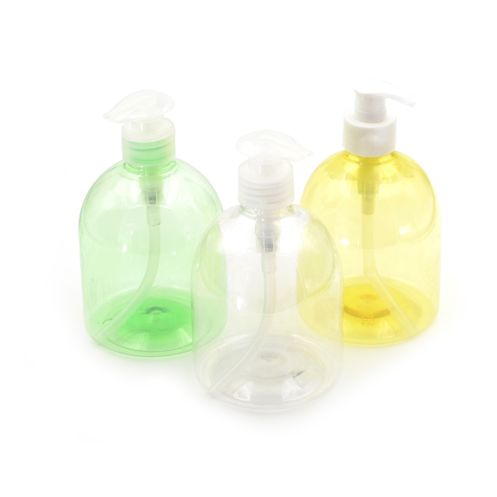 500ML Plastic Bathroom Empty Bottles Liquid Soap Dispenser Hand Pump Shampoo Lotion Containers Cleanser