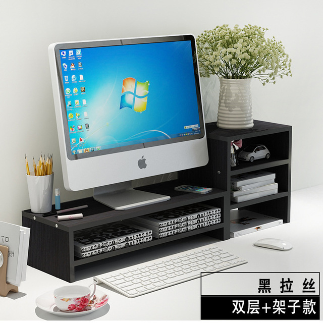 Superbe Necklace LCD Monitor Monitor Rack Mount Base Stand Table Keyboard Storage  Baffle Set