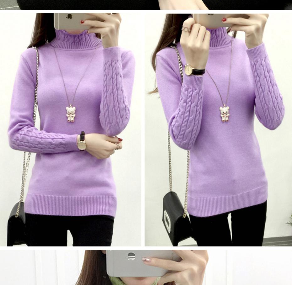 Refeeldeer Women Long Sleeve Knitted Sweaters