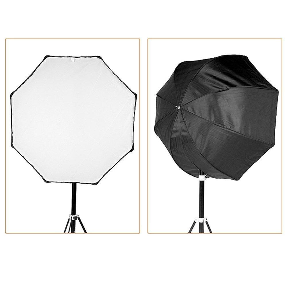 ФОТО Godox Portable Octagon Softbox 120cm/47.2in Umbrella Brolly Reflector Flash light Softbox for Studio Photo Flash Speedlight
