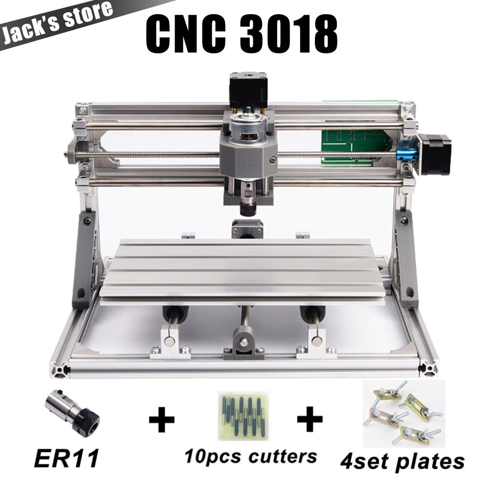 CNC3018 con ER11, fai da te macchina per incidere di cnc, Pcb Fresatura Macchina, Legno Intagliare macchina, router di cnc, cnc 3018, GRBL, migliore Avanzata giocattoli