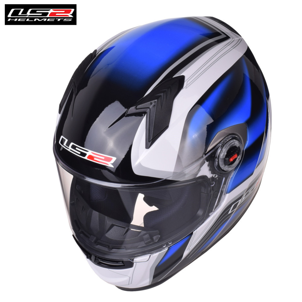 Original LS2 FF358 Full Face Racing Motorcycle Helmet Casco Capacete Casque Moto Kask Helm Helmets For Benelli Motorbike original ls2 ff358 full face motorcycle helmet hjelm helma capacete casque moto ls2 high quality helm ece approved no pump