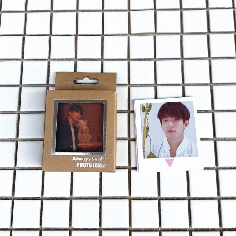 New 40Pcs/set KPOP Seventeen Lomo Photo Card PVC Cards Self Made Card Photocard