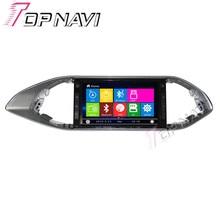 """Topnavi """" автомобильный DVD gps для peugeot 308 S автомобильный радио мультимедиа аудио стерео в тире, Wince система"""