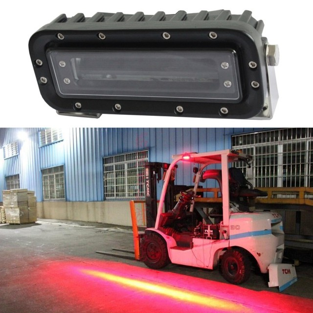 Aliexpress Com Buy  V Led Forklift Blue Spot Light
