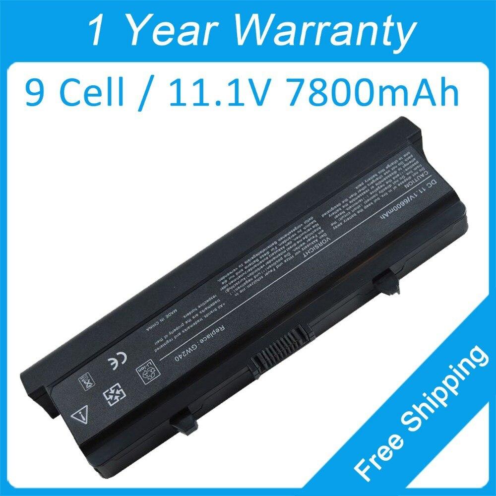 все цены на  New 9 cell laptop battery for dell Inspiron 1525 1545 1546 1526 0GW240 0GW241 0HP277 0F965N 0XR694 0XR693 0HP297 0RU573 0RN873  онлайн