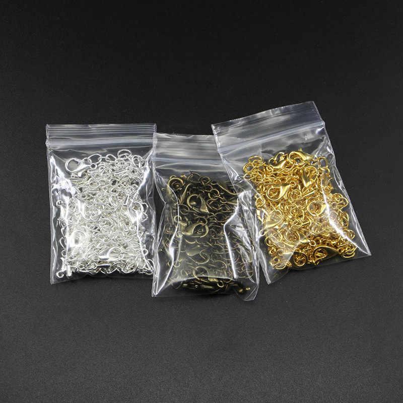 1 Uds. 50mm tono extensible Cadena de cola de langosta broches conector para DIY joyería hacer hallazgos collar de pulsera