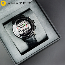 2019 New Amazfit Stratos+ Flagship Smart Watch Genuie Leather Strap Gift Box Sapphire 2S