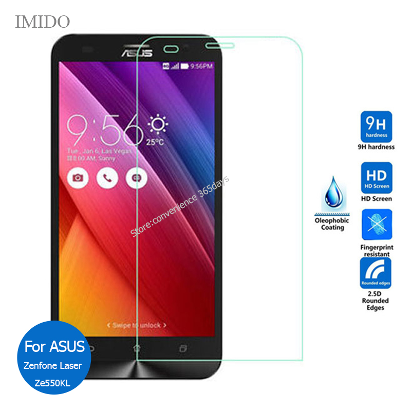 2PCS Tempered Glass For <font><b>Asus</b></font> <font><b>Zenfone</b></font> <font><b>2</b></font> Laser 5.5 ZE550KL Screen Protector <font><b>2</b></font>.5 Safety Glass On ZE550 KL ZE <font><b>550KL</b></font> ZE551KL image