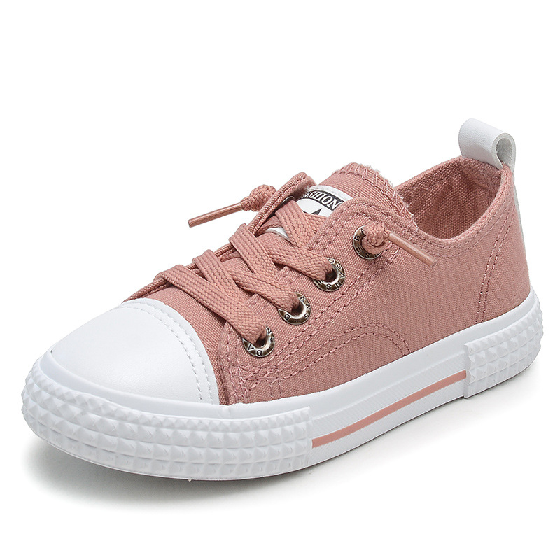2019Spring New Kids Shoes For Girls Children Sport Shoes Black In Children's Shoes Student Fashion Running Shoes Boys Sneakers