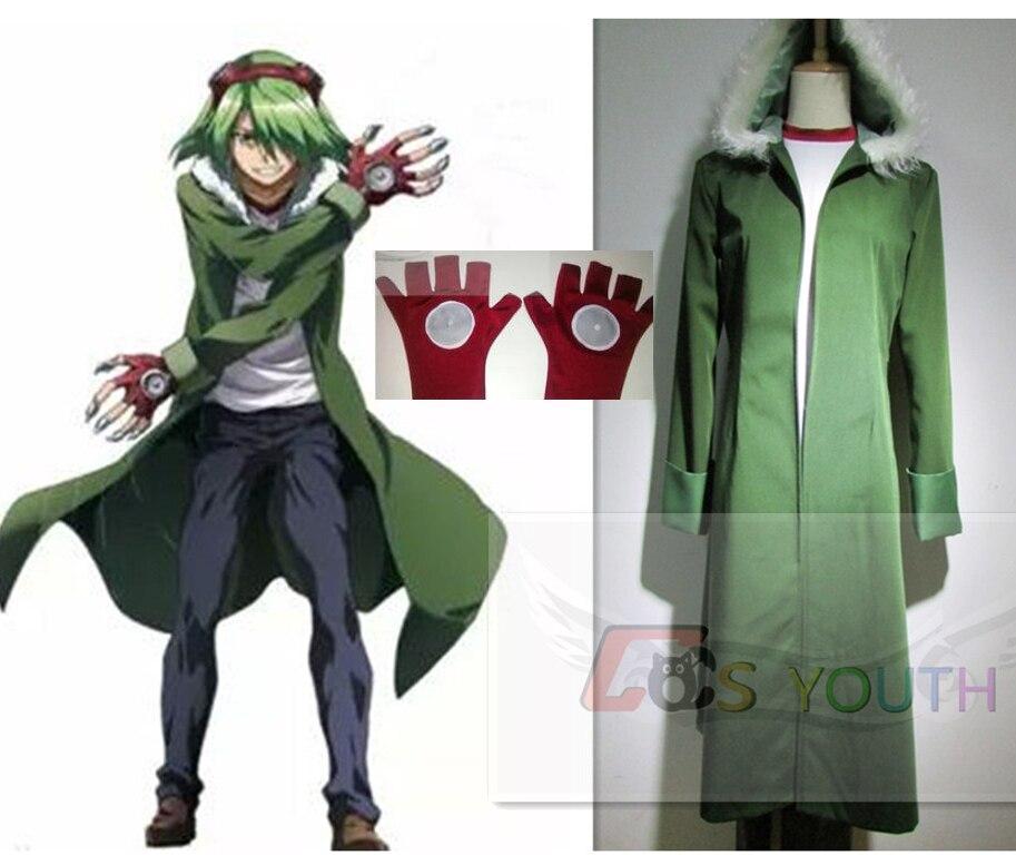 free shipping akame ga kill lubbock rabakku cosplay costume halloween party full set