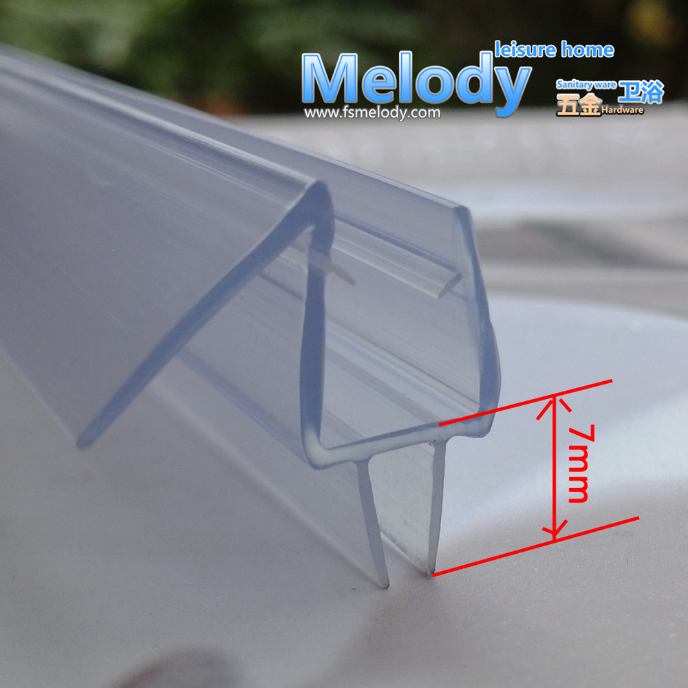 Me 310 Bath Shower Screen Rubber Big Seals Waterproof Strips Glass